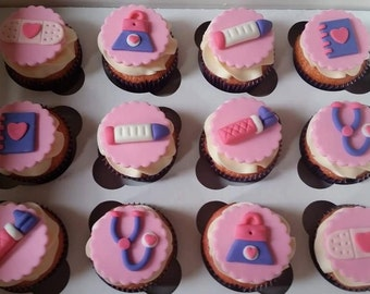 Doc mcstuffin  cupcake toppers