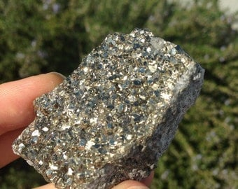 Raw Pyrite Cluster