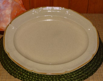 The Classics by Hearthside Stoneware Platter / Hearthside Platter / Stoneware Platter / Stoneware