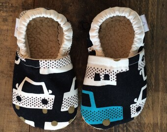 12-18 month Cars Booties