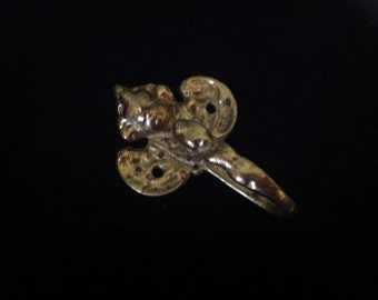 Gold Plated Angel Hook