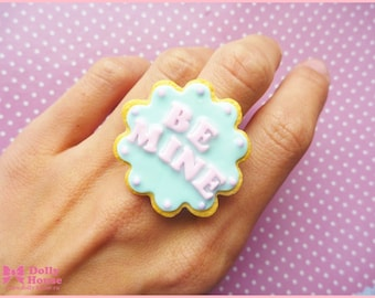 BE MINE cookie  Ring by Dolly House