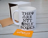 They are not only Books Mug Cup