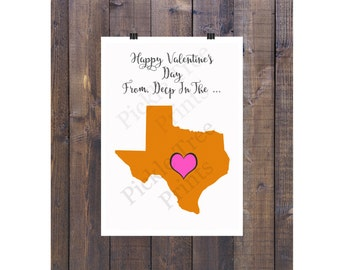 Happy Valentine's Day Card from Deep in the Heart of Texas <3