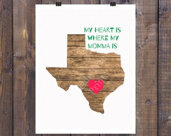 My Heart is with Momma in the Hill Country