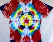 Red Dawn Tie Dye Shirt - ...