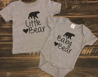 Baby Bear Onesie | Baby Bear Creeper | Baby Bear bodysuit | personalized gift