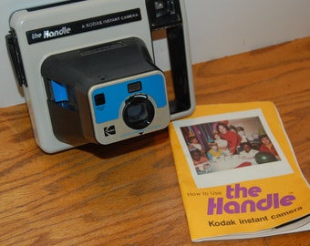 Vintage Kodak Instant Camera, The Handle, Collectible Camera, Instamatic Camera