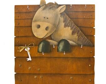 Wall Key Holder Horse