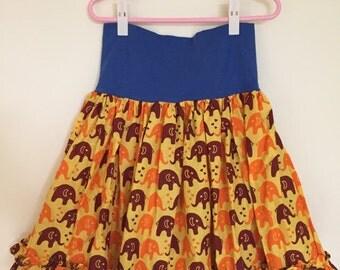 Girls high waisted skirt