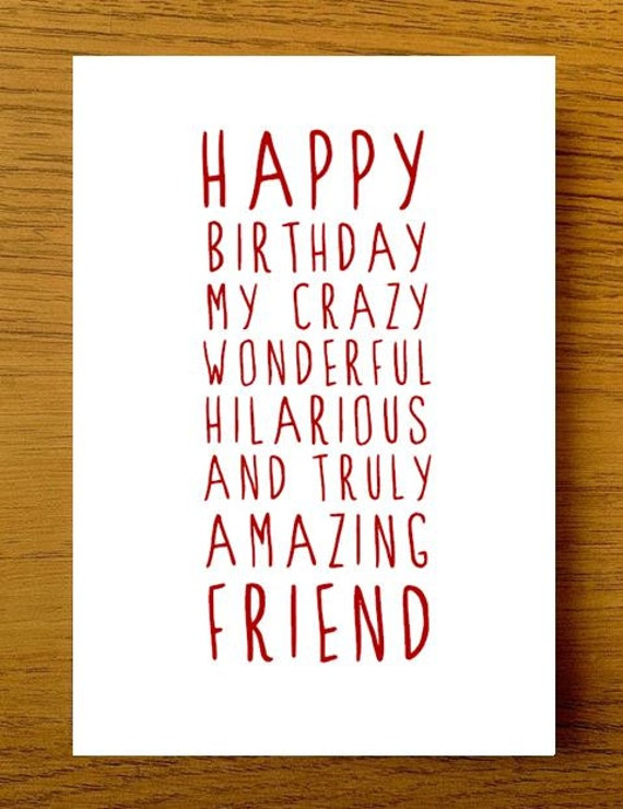 Best Birthday Quotes For Friend In English: Sweet Description Happy Birthday Friend Card Card For Friend