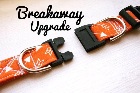 breakaway dog collar upgrade leash safe breakaway by kiraspetshop. Black Bedroom Furniture Sets. Home Design Ideas