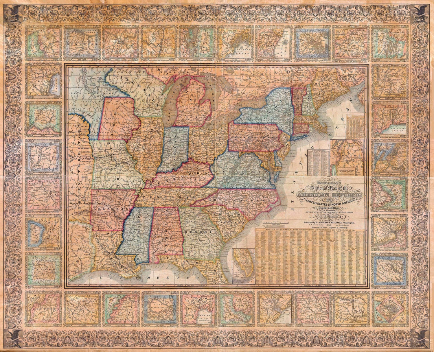Usa Map Bing Images Large Scale HiRes Detailed Full Road Map Of - Full map of usa states