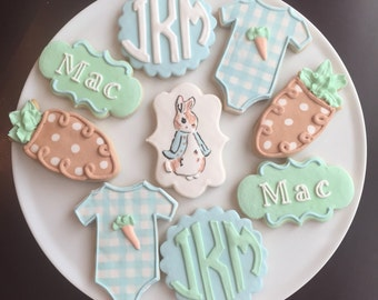 Peter Rabbit Cookies / One Dozen