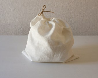 bag - linen bag - laundry - for your games - with string