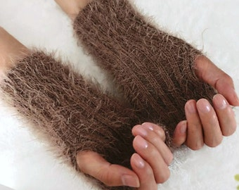 Ready to ship,Fingerless Gloves Knit, Fingerless glove mittens, Fingerless Gloves, Wrist Warmers