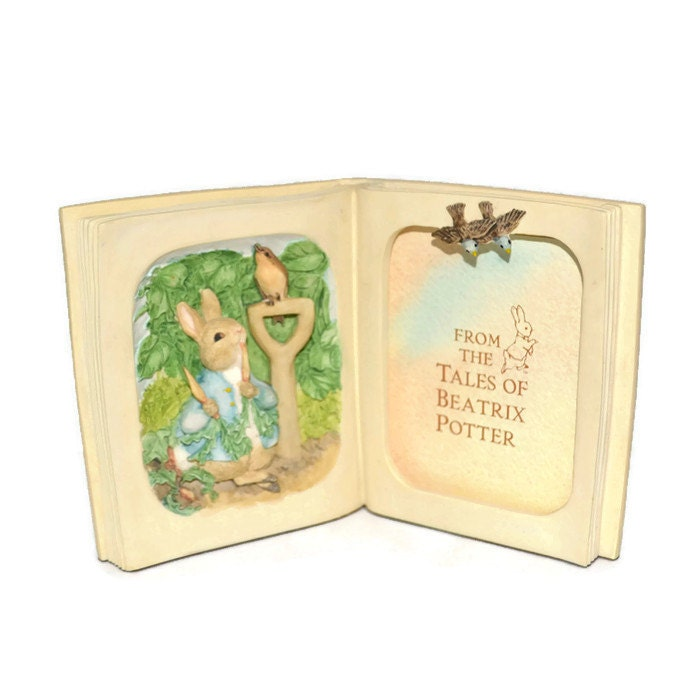 Beatrix Potter Baby Gifts Australia : Picture frame peter rabbit unique vintage beatrix potter