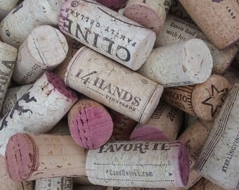 150 used wine corks from red and white wines.