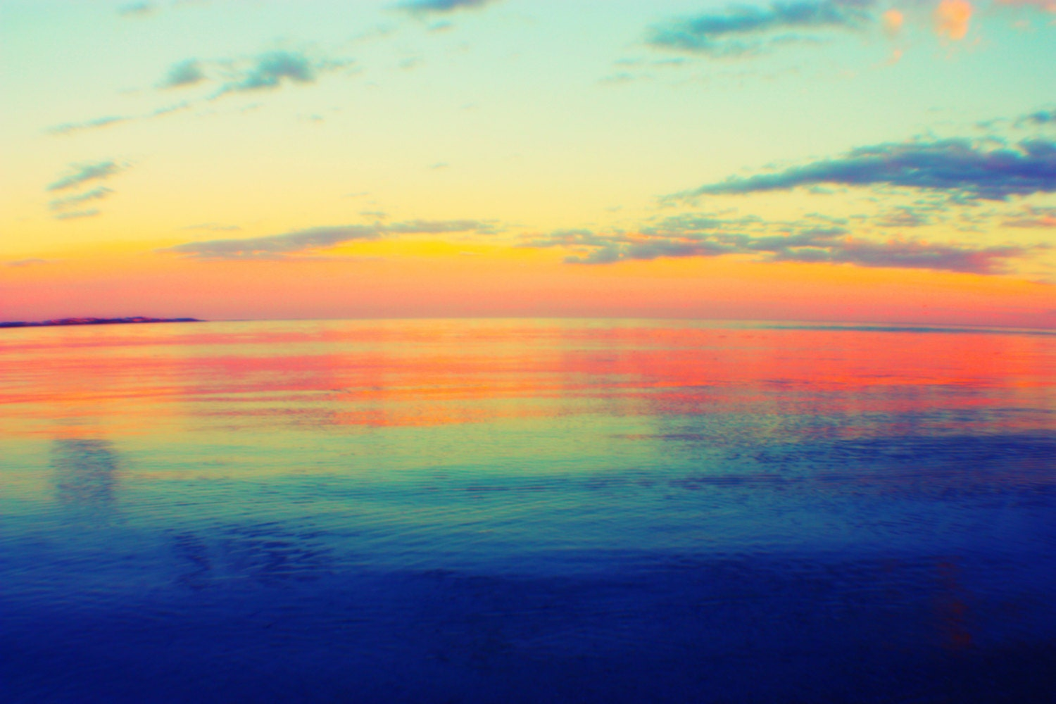 Sunset reflections victor harbor australia home decor wall art fine art photography Home decor wall decor australia