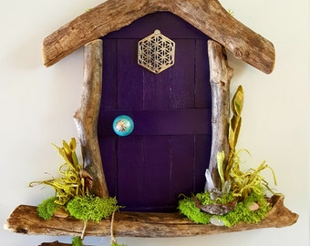 Flower of life Sedona Fairy Door