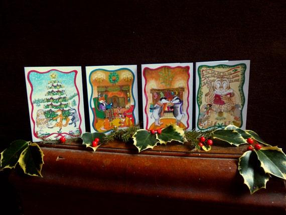 Kerstkaarten van Goldlokje