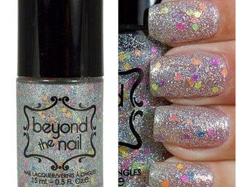 Dune Buggy Glitter Nail Polish