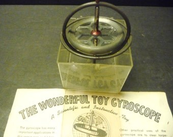 40% OFF- Gyroscope~ The Wonderful Toy Gyroscope with instructions.