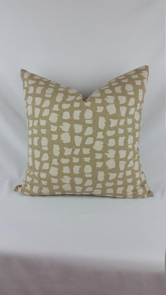 Animal Print Lumbar Pillows : Thibaut Animal Print Lumbar Pillow Cover by FeniasHomeDecor