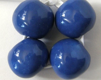 Okawa Ceramic Beads in Blue