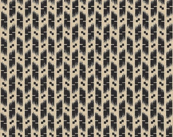 Marcus Quilt Fabric - Inkwell Collection - Cream Black Print  - Judie Rothermel -  By the Yard