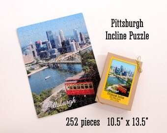 Pittsburgh Incline Puzzle - 252 pieces