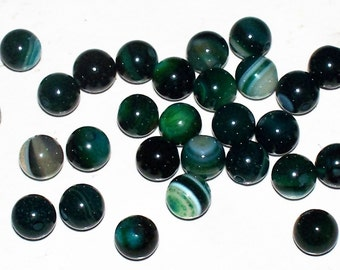 Natural Forest Green Agate - 6MM