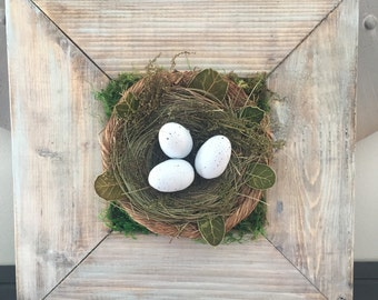 Rustic Framed Nest