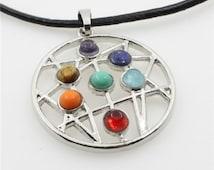 Chakra Astrolabe Constellation Pendant