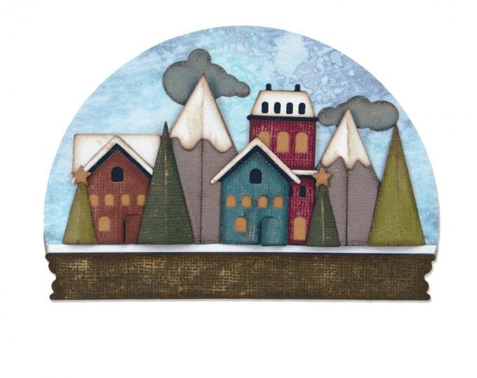 Sizzix Tim Holtz Thinlits Die Set 23PK - Snowglobe 661603