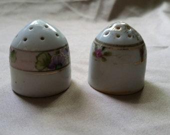 Mini Ceramic Salt and Pepper Shakers