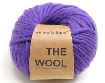 100% Peruvian Wool -  Violet