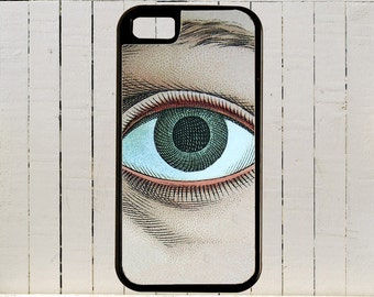Giant Eyeball Staring At You iPhone Case 4, 4s, 5, 5C, 6, 6+ and Samsung Galaxy 3, 4, 5, 6, Edge