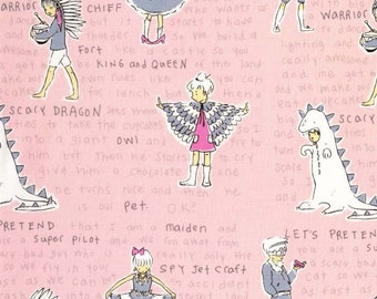 Michael Miller Fabrics - Act It Out Pink - DC5825-PINK-D