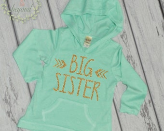 Big Sister Shirt Big Sister Announcement Shirt Big Sister Hoodie Little Sister Shirts Sibling Pregnancy Baby Announcement Shirt 015