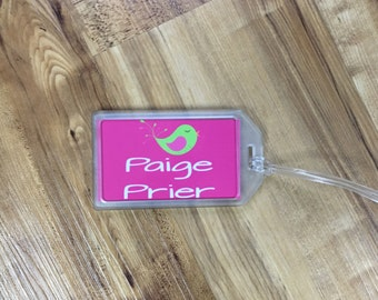 Bag Tags for Kids Back Packs, Lunch Bags, Duffle Bags, Camp, Daycare, School