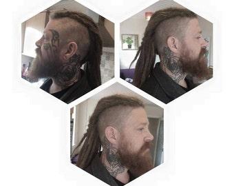 Human Hair dreadlocks extensions for dreadhawk