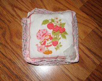 Vintage Strawberry Shortcake Tooth Fairy Pillow