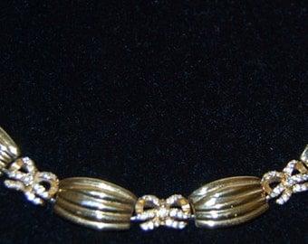White diamonds bracelet by liz taylor