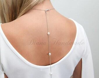 Back Drop Bridal Necklace,Wedding Backdrop Necklace,wedding Necklace, Crystal necklace, Bridal Jewelry, Bridal back drop  Necklace,wedding