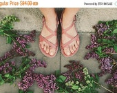 SALE 20% OFF: Leather Sandal, Pink Sandals, Women Sandals, Summer Shoes, Women Shoes, Summer Sandals, Blush Pink Leather Sandals