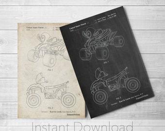 4-Wheeler Printables, Kids ATV , Kids 4-Wheeler Print, Kids 4-Wheeler Art, Kids 4-Wheeler Decor, Kids 4-Wheeler Wall, PP0908