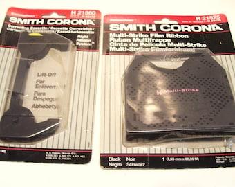 Smith Corona Multi-strike Film Ribbon H21525 and Correcting Cassette H21560