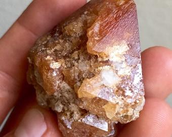 Rare 177g Huge Scheelite Crystal - Mt. Xuebaoding, Sichuan, China - Item:SCH16006