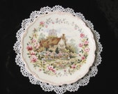 "Vintage Royal Albert Collector's Plate, ""Summer"", Cottage Garden Year"
